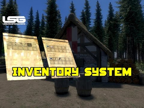 Medieval Engineers - Inventory System (Update)