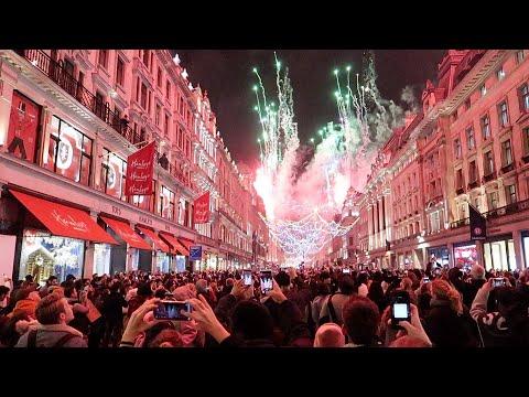 Regent Street Christmas Lights 2019 Roberts London Vlog