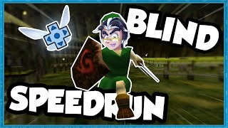 First Time Playing Ocarina Of Time... But Its A Speedrun (ft. Charriii5)