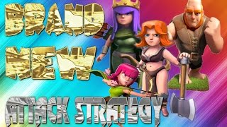 "(NEW 3 STAR) ATTACK STRATEGY! ""3 STAR EVERY TIME + FUNNY MOMENTS"" (CLASH OF CLANS)"