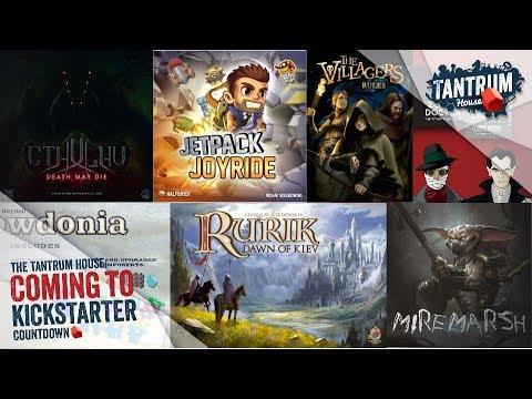 Upcoming Board Games Kickstarter July 2018 (1st Half)