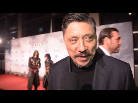 Premiere Assassin's Creed - Carlos Bardem