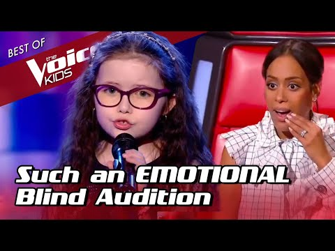 9-Year-Old makes the coaches CRY during her Blind Audition in The Voice Kids
