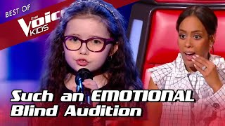 Download 9-Year-Old makes the coaches CRY during her Blind Audition in The Voice Kids Mp3 and Videos