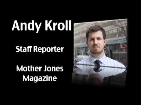 Gov. Walker Recall Effort - Mother Jones Reporter Andy Kroll