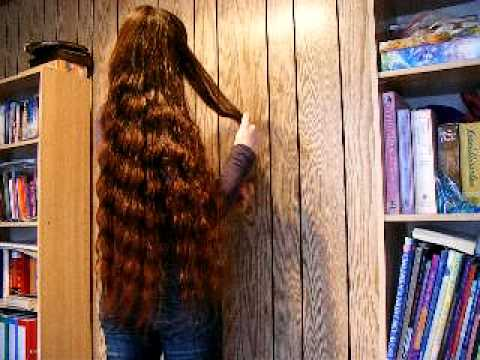 My Long Hair 10 Untangling My Braid And Bundrop YouTube