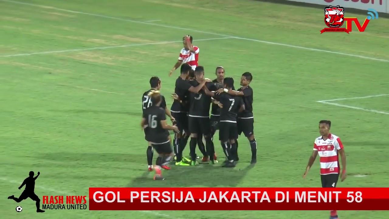 Highlight ALL GOAL 2 2 Madura United vs Persija Jakarta