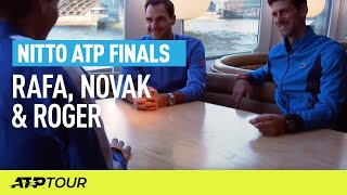 Round Table With Nadal, Djokovic & Federer | Nitto ATP Finals | ATP