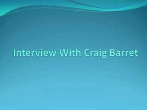 Interview with Craig Barret