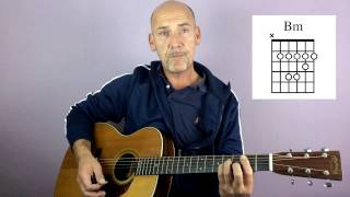U2 - With or without you - Guitar lesson by Joe Murphy