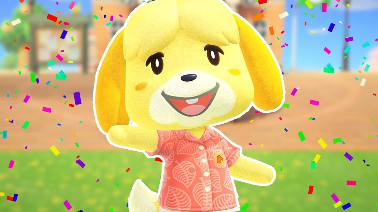 ISABELLE HAS ARRIVED!    Animal Crossing: New Horizons ...