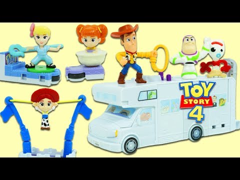FULL McDonalds Happy Meal Disney Pixar Toy Story 4 Toy Collection Unboxing!
