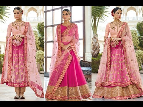 Latest Indian Eid Dresses Collections 2017 || Mugha ||GLAMOUR OF ANARKALI / GHAGRA CHOLI STYLE SUITS