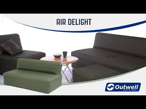 Outwell Air Delight - Inflatable Furniture (2019) | Innovative Family Camping Gear