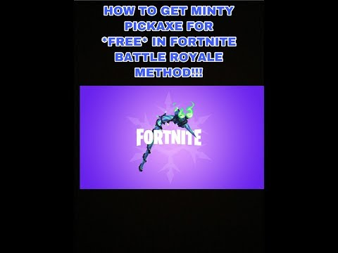 HOW TO GET MINTY FORTNITE PICKAXE FOR *FREE* FROM GAMESTOP IN FORTNITE BATTLE ROYALE!!!