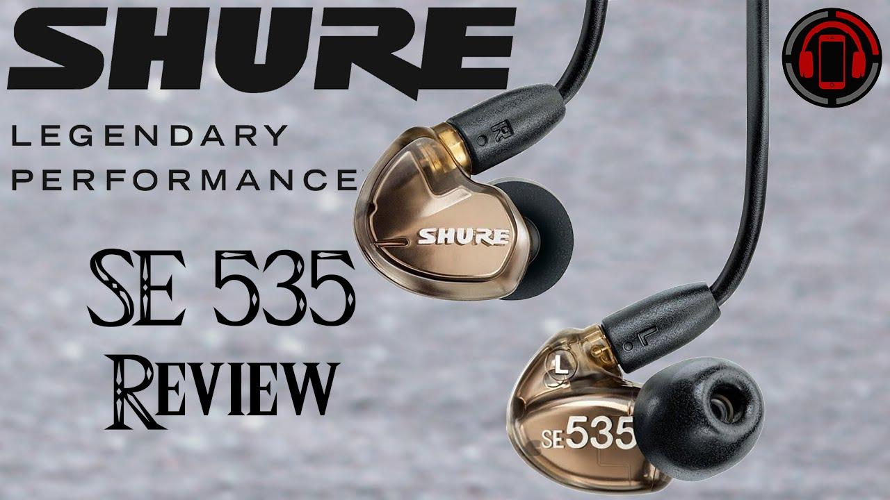 shure se535 in ear headphones review deutsch german youtube. Black Bedroom Furniture Sets. Home Design Ideas