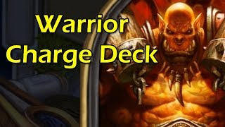 Hearthstone: Warrior Charge Deck! with Wowcrendor