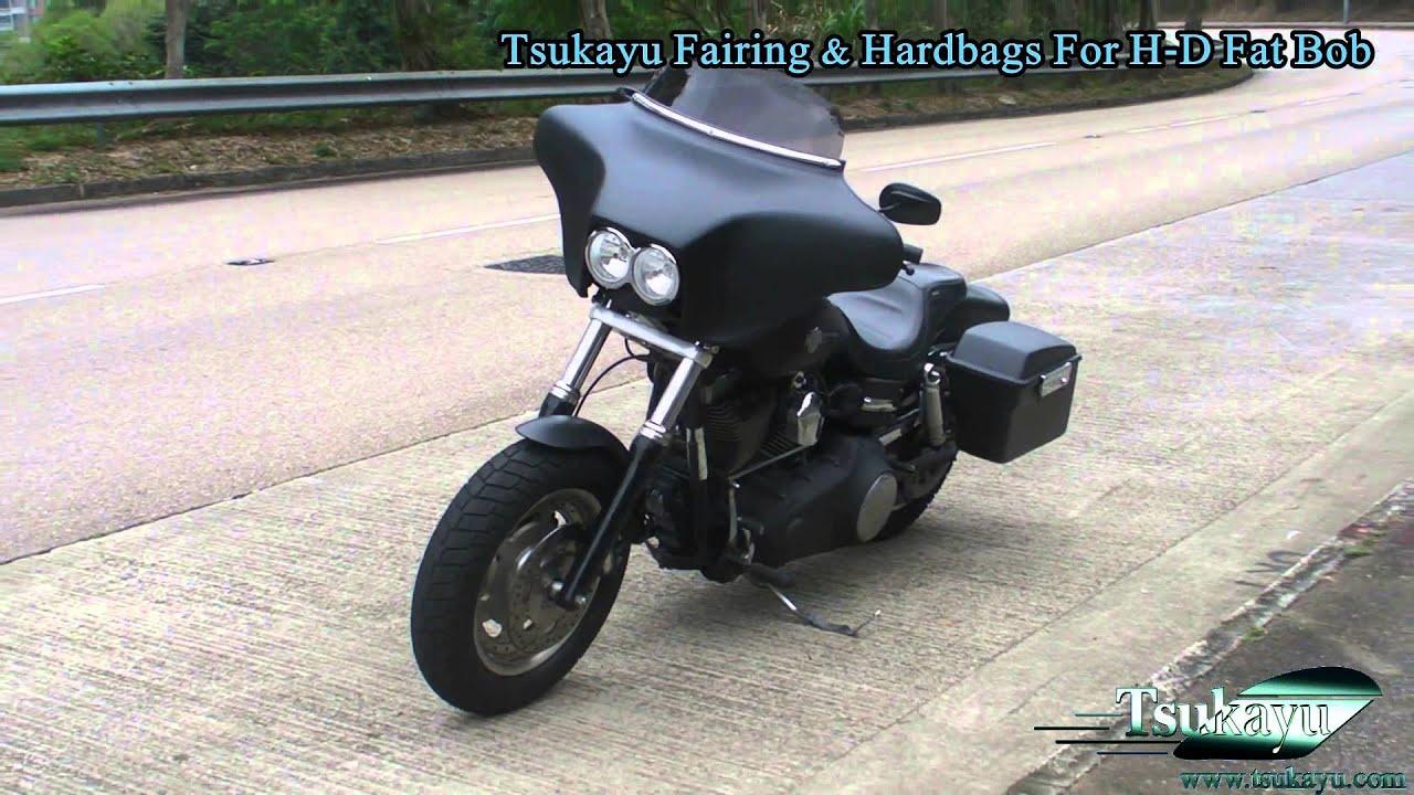 Tsukayu Fairing Amp Hardbags For H D Fat Bob