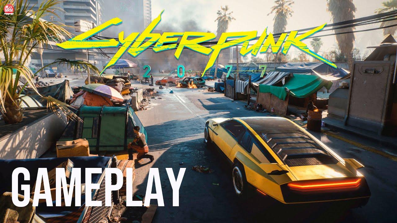 CYBERPUNK 2077 - NOVA GAMEPLAY INCRÍVEL DESTACANDO a CIDADE de NIGHT CITY e suas GANGUES!