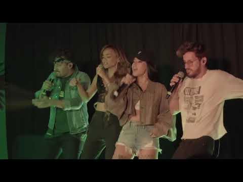 Mau Y Ricky, Becky G & Leslie Grace - Mi Mala (Remix) | Live Performance 07/20 | MIAMI