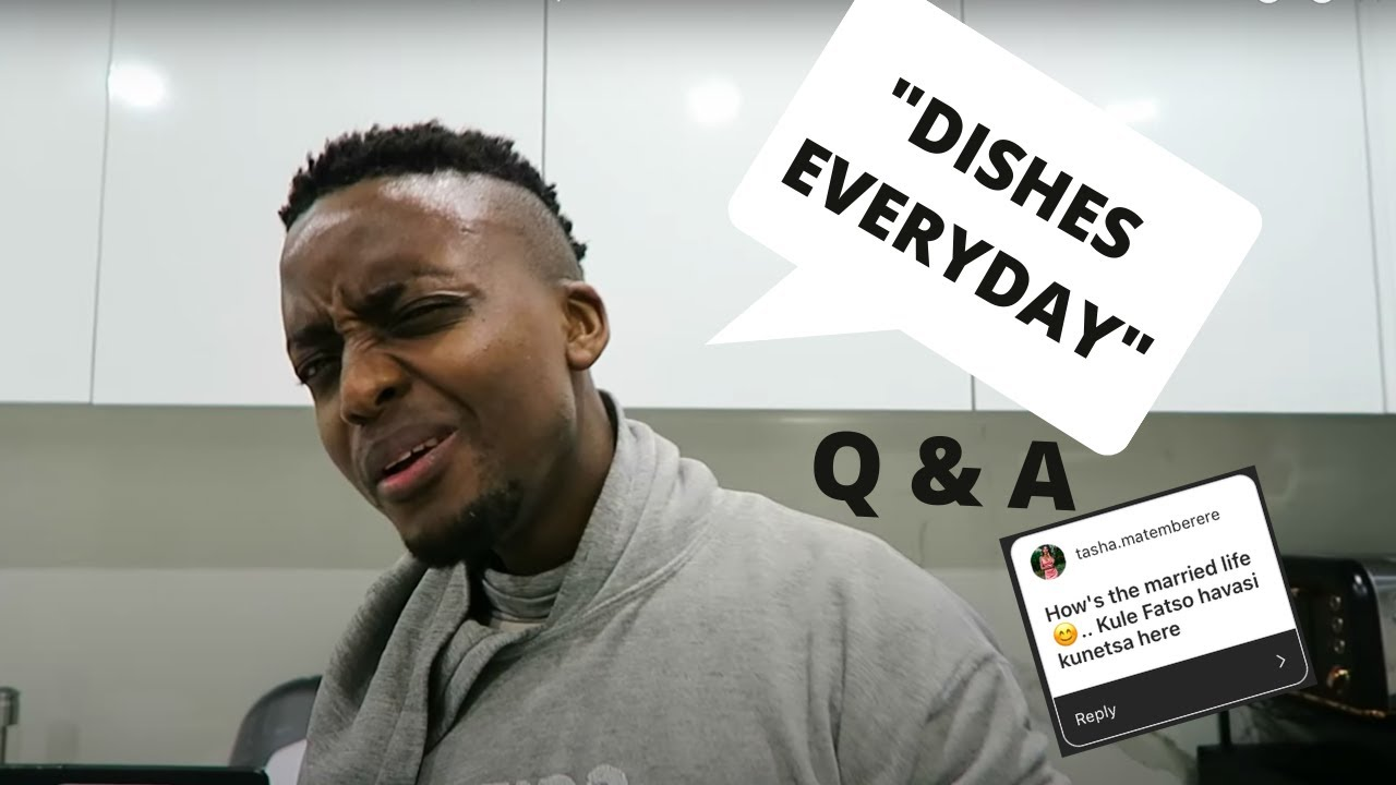 Husband Does The Dishes! Wife Duties  | Q & A part 2