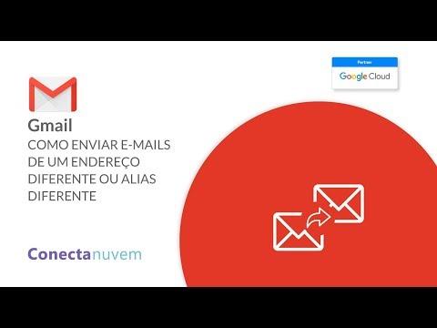 Como enviar e-mails de um endereço ou alias diferente