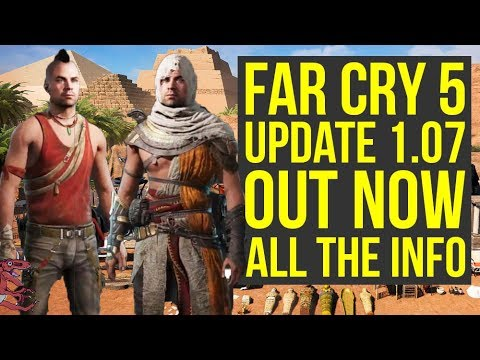 Far Cry 5 Update 1.07 OUT NOW - Adds A Lot Of New Items, Far Cry 3 Outfits & More (Far Cry 5 DLC)