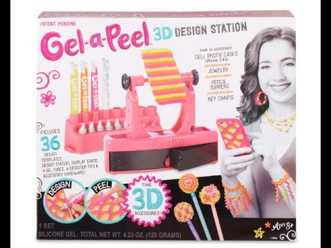 Gel-a-Peel 3D Design Station from MGA Entertainment