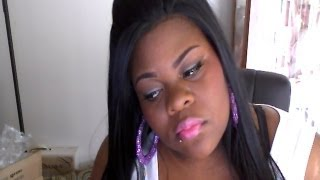 nicki minaj right by my side inspired makeup