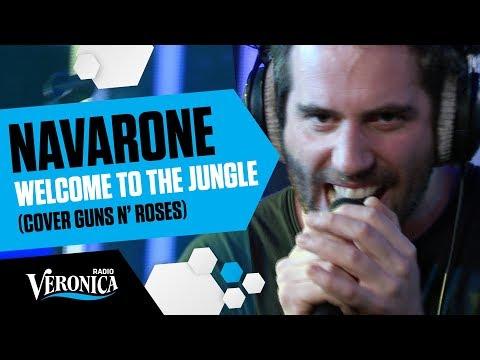 Navarone doet briljante cover van Guns N' Roses Welcome To The Jungle! // Live bij Giel