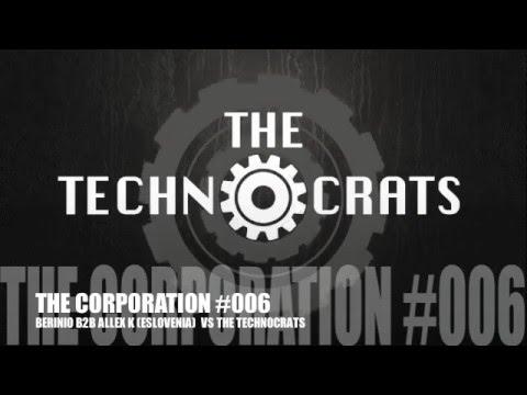 TECHNO DJ SET / THE CORPORATION #006 VS BERINIO b2b ALLEX K (ESLOVENIA)