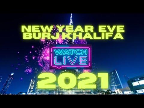 LIVE BURJ KHALIFA NEWYEAR  FIREWORKS 2021 | BURJ KHALIFA NYE | LIVE FROM DOWNTOWN DUBAI | UAE