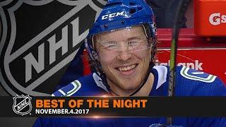 Boeser highlights night of milestones