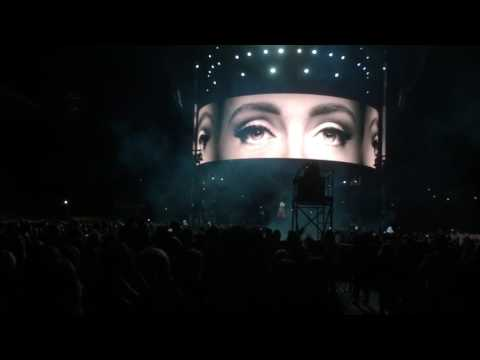 Adele opening with Hello at Mt Smart Stadium, Auckland NZ 25.3.17