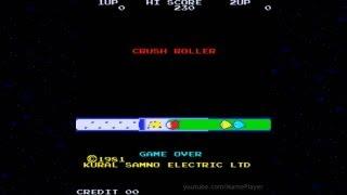 Crush Roller 1981 Cural Samno Mame Retro Arcade Games