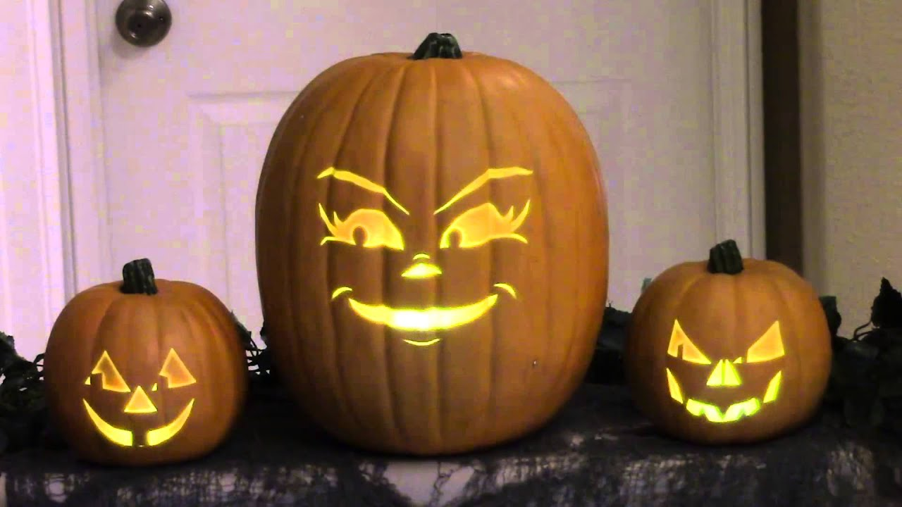 Kidnap Sandy Claws Pumpkins Nightmare Before Christmas - YouTube