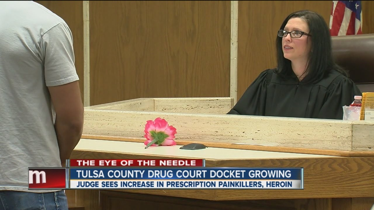 The Eye of the Needle: Tulsa County drug court docket growing