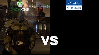 Batman: Arkham Origins: Backwards Compatibility Comparison (Xbox One) Version Vs (PS4) Version