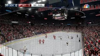 NHL 16 Footage - Goal Horns That Have The Wrong Pitch