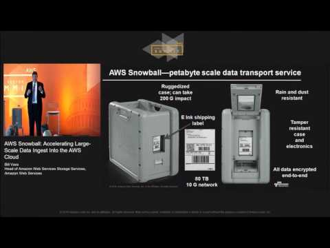 AWS Snowball: Accelerating Large-Scale Data Ingest Into the AWS Cloud