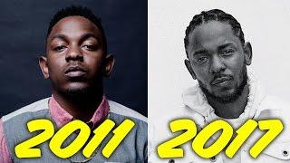 The Evolution of Kendrick Lamar (2011-2017)