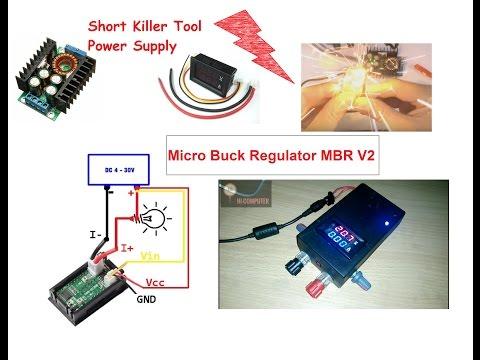 MBR# V2 Build Micro Buck Regulator 12A #Short Killer Power Supply