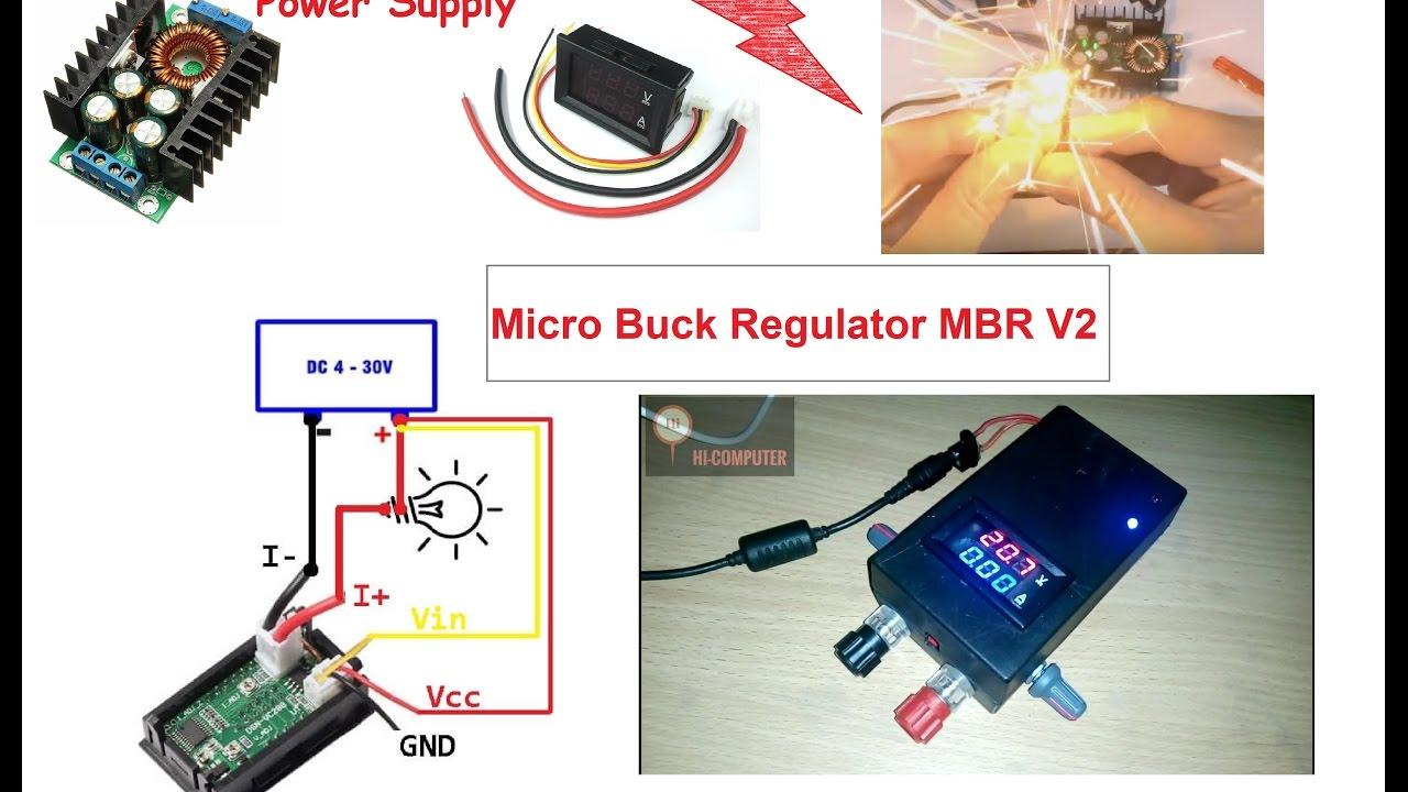 Mbr V2 Build Micro Buck Regulator 12a Short Killer Power Supply High Converter Hi Computer
