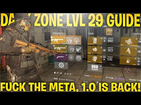 DARK ZONE LVL 29 GUIDE, TIPS&TRICKS! (The Division 1.8)