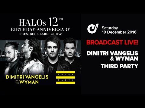 Third Party x Dimitri Vangelis & Wyman - #12YearsOfHalo Warmup Set (10th December 2016)