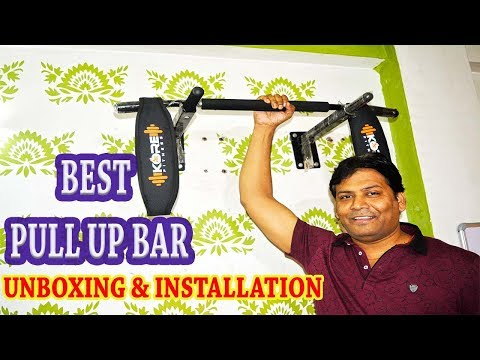 Home Gym Kore Pull Up Bar || Unboxing ,Installation And Review || Chin Up Bar