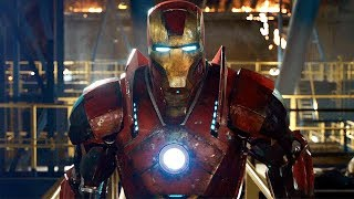 Iron Man vs Killian Final Battle - Mark 16, Mark 40 Suit Up - Iron Man 3 (2013) Movie CLIP HD