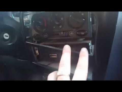 Daewoo Matiz установка магнитолы