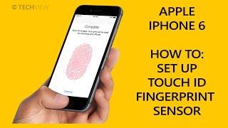 Apple iPhone 6 - Set up TouchID Fingerprint Sensor