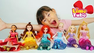 Learn Colors with Disney Princess for Children, Kids song |  Finger Family Song